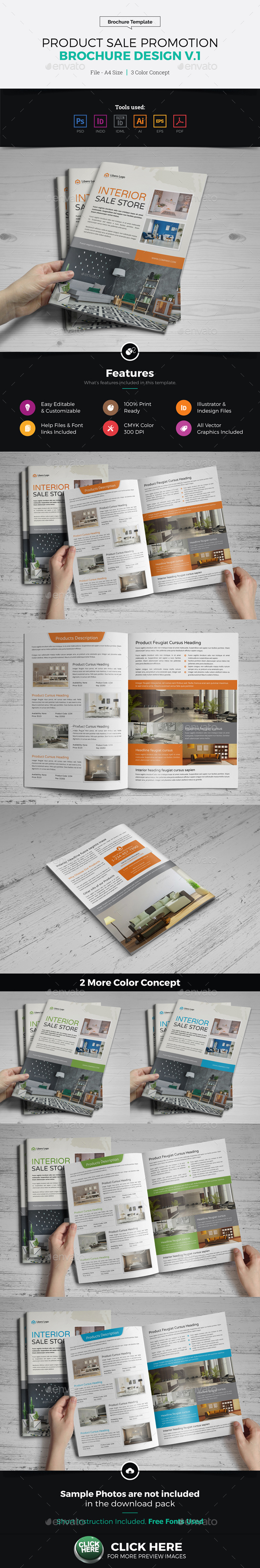 Product Sale Promotion Brochure Catalog v1 - Catalogs Brochures