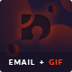 TLDR - Responsive Email Notification Templates + Animated GIF Icons + Hybrid Fallback + Builder