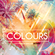 Summer Colour Flyer Template - GraphicRiver Item for Sale