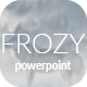 Frozy - Minimal PowerPoint Template - GraphicRiver Item for Sale