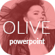 Olive - Fashion PowerPoint Template - GraphicRiver Item for Sale