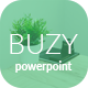 Buzy - Multipurpose PowerPoint Template - GraphicRiver Item for Sale