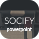 Socify - Marketing PowerPoint Template - GraphicRiver Item for Sale
