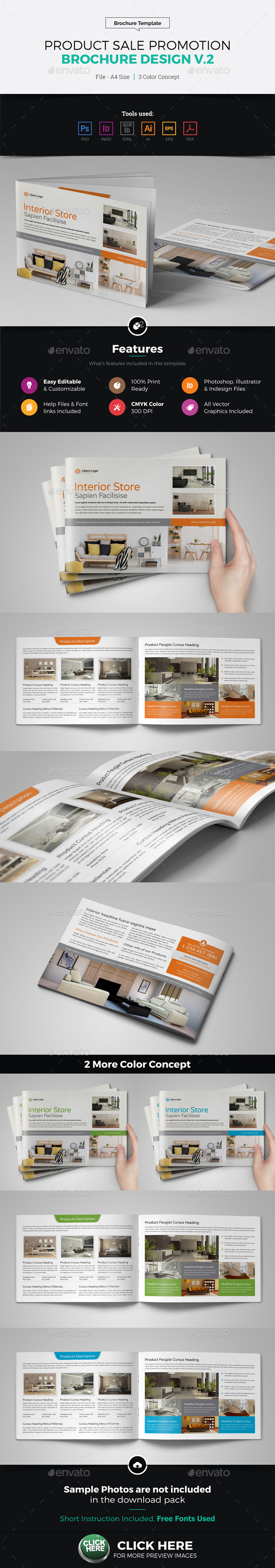 Product Sale Promotion Brochure Catalog v2 - Catalogs Brochures