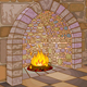 Castle Hall and Fireplace - GraphicRiver Item for Sale