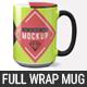 15 oz Full Wrap Mug Mockup Templates - GraphicRiver Item for Sale