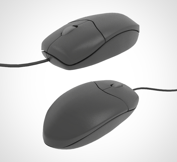 Computer Mouse 001 - 3DOcean Item for Sale