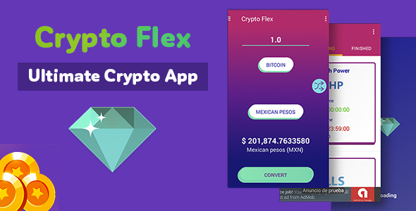 Crypto Flex - Ultimate Crypto App - Market, Trades, Calculator and more - CodeCanyon Item for Sale