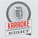 Vintage Karaoke Night Event Flyer