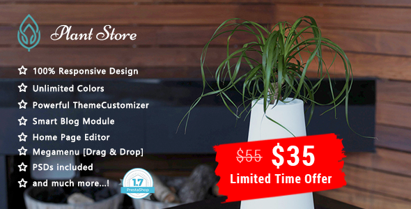 Image of Plant - Garden Care Responsive Prestashop 1.7 Theme