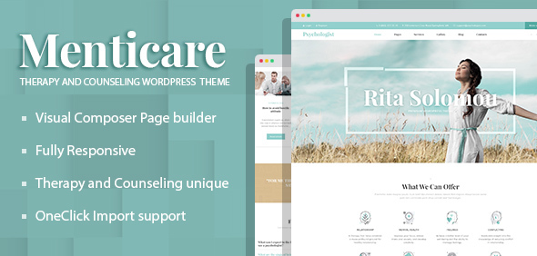 Image of Menticare - Therapy and Counseling WordPress Theme