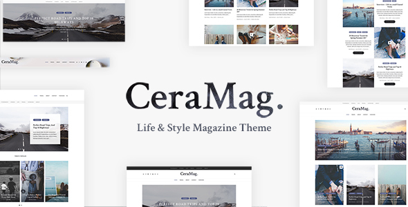 CeraMag - Life & Style Magazine Theme - Blog / Magazine WordPress