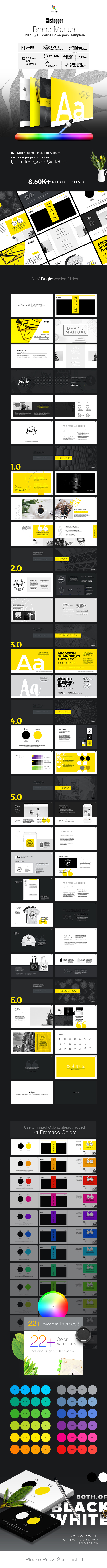 Brand Manual PowerPoint - Business PowerPoint Templates