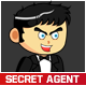 Secret Agent Character - GraphicRiver Item for Sale