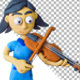 Kids with Musical Instruments in Clay - VideoHive Item for Sale