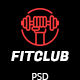 FITCLUB - Gym and Fitness Landing Page