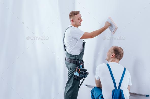 Professional house renovation - Stock Photo - Images