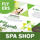 Spa Shop Flyers – 4 Options - GraphicRiver Item for Sale