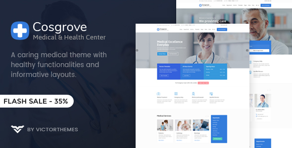 Image of Cosgrove - Medical & Healthcare WordPress Theme