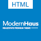 ModernHaus - Real Estate HTML Template - ThemeForest Item for Sale