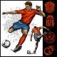Soccer Player Kicking Ball - GraphicRiver Item for Sale
