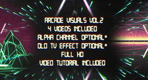Retro Arcade Visuals