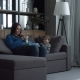 Mom and Kid Relaxing on Couch with Digital Devices - VideoHive Item for Sale