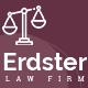 Erdster - Law Firm PSD Template