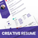 Creative Resume CV - GraphicRiver Item for Sale