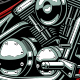 Motorcycle Vector Design - GraphicRiver Item for Sale