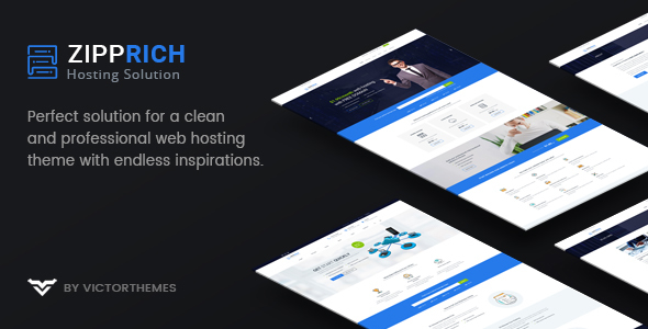 Zipprich - Web Hosting & WHMCS WordPress Theme
