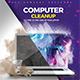 Computer Clean Services - GraphicRiver Item for Sale
