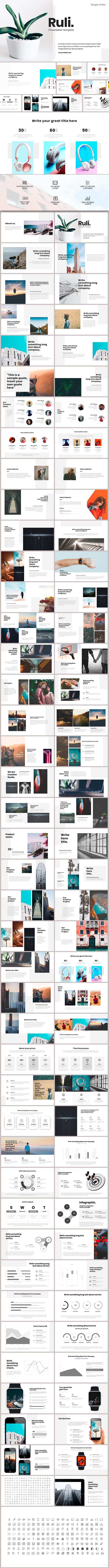 Ruli Google Slides - Google Slides Presentation Templates
