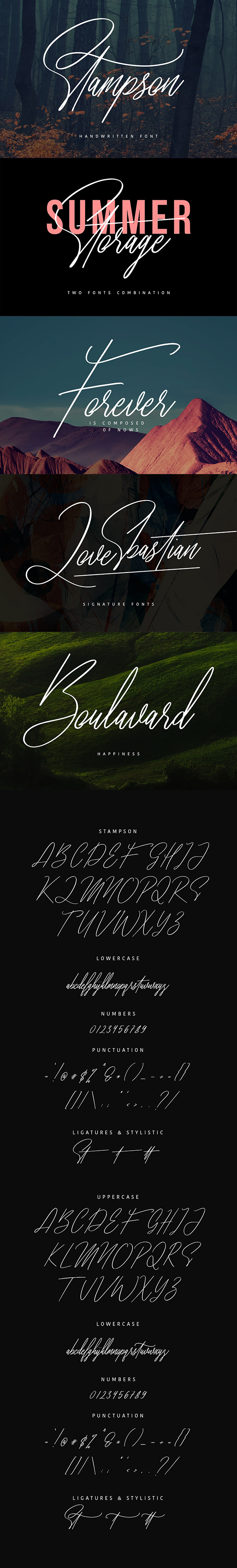 Stampson Typeface - Fonts