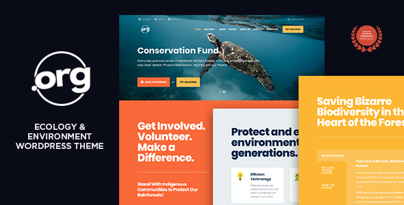 Image of DotOrg - Environmental & Ecology WordPress Theme