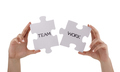 Jigsaw piece teamwork - PhotoDune Item for Sale