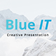 BlueIT Creative Keynote Template - GraphicRiver Item for Sale