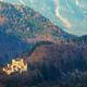 Beautiful spring landscape with Hohenschwangau castle at sunrise - PhotoDune Item for Sale