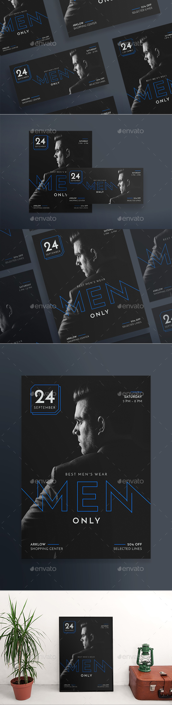 Men's Wearhouse Flyers - Corporate Flyers