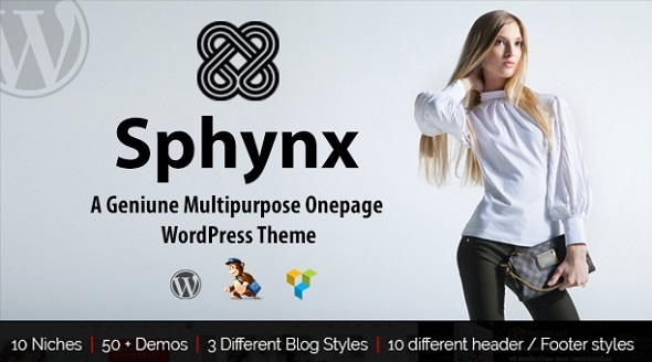 Sphynx - A Geniune Multipurpose WP Theme