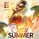 Sexy Summer Flyer Template - GraphicRiver Item for Sale