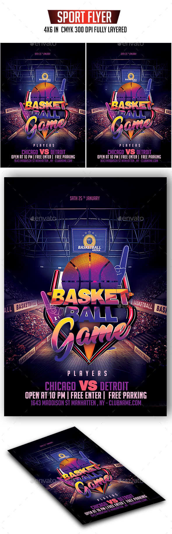 Basketball Flyer - Sports Events