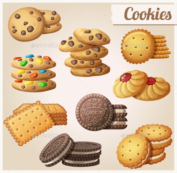 Cookies - Food Objects