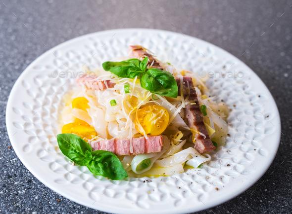 Diet konjac noodles - Stock Photo - Images