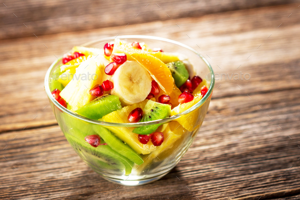 Fresh fruits mixed - Stock Photo - Images