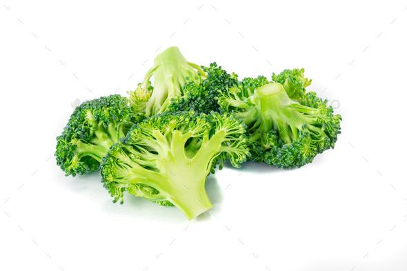 Fresh broccoli  - Stock Photo - Images