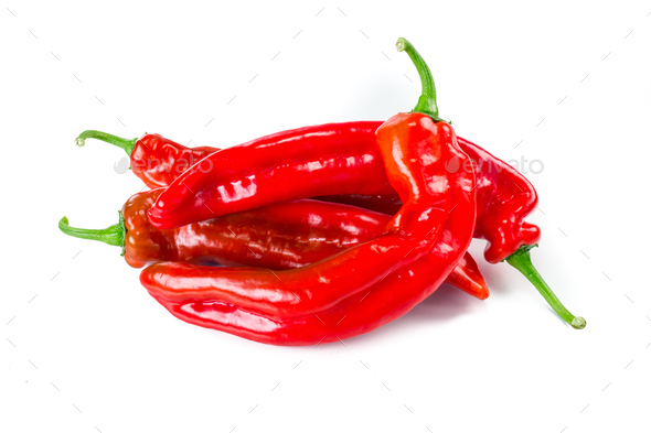 Sweet red pepper  - Stock Photo - Images