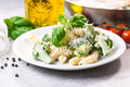 Pasta with broccoli, chicken and cream - PhotoDune Item for Sale