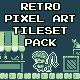 Retro Pixel Art Tileset Pack - GraphicRiver Item for Sale