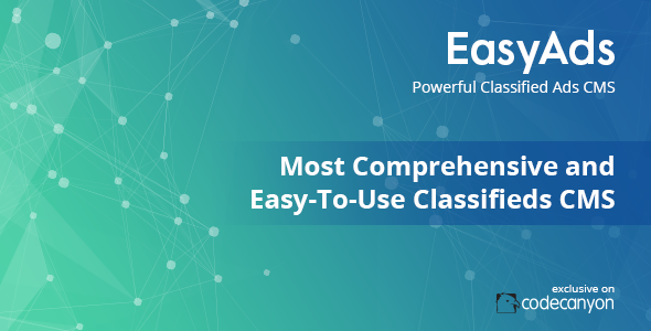 Powerful Classified Ads CMS - EasyAds - CodeCanyon Item for Sale